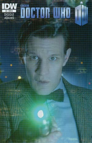 Doctor Who Vol 5 #5 Incentive Photo Variant Cover