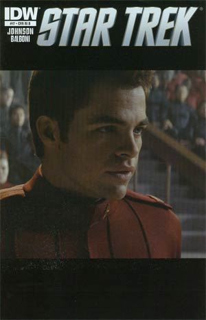 Star Trek (IDW) #17 Incentive Photo Variant Cover