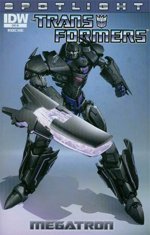 Transformers Spotlight Megatron One Shot Incentive Clayton Crain Variant Cover