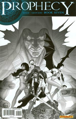 Prophecy #7 Incentive Paul Renaud Black & White Cover