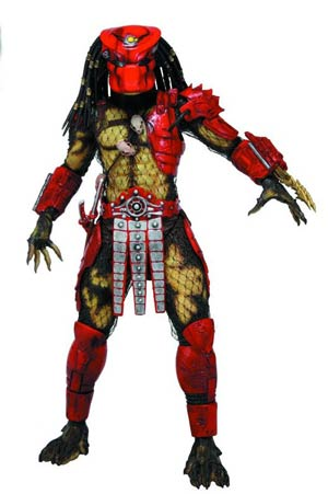 Predators Series 7 Big Red Predator 7-Inch Action Figure