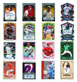 Topps 2013 Baseball Series 1 Trading Cards Jumbo Pack