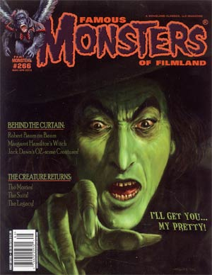Famous Monsters Of Filmland #266 Mar / Apr 2013 Newsstand Edition