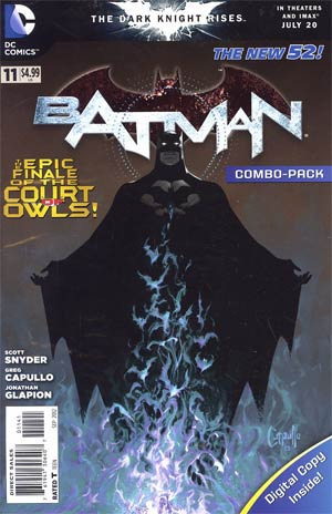 Batman Vol 2 #11 Combo Pack Without Polybag