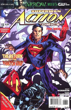 Action Comics Vol 2 #13 Cover C Combo Pack Without Polybag