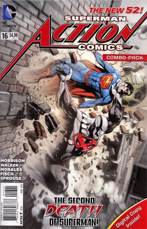 Action Comics Vol 2 #16 Combo Pack Without Polybag