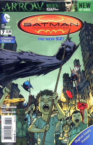 Batman Incorporated Vol 2 #7 Combo Pack Without Polybag
