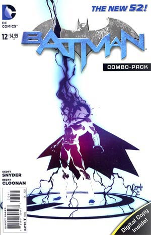Batman Vol 2 #12  Combo Pack Without Polybag