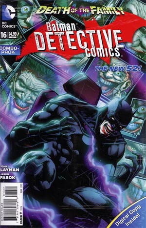 Detective Comics Vol 2 #16 Combo Pack Without Polybag (Death Of The Family Tie-In)