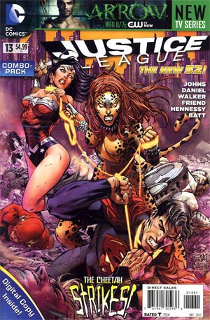 Justice League Vol 2 #13 Combo Pack Without Polybag