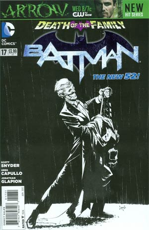 Batman Vol 2 #17 Incentive Greg Capullo Sketch Cover (Death Of The Family Tie-In)