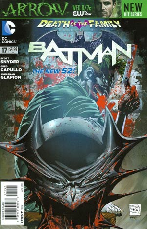 Batman Vol 2 #17 Variant Tony S Daniel Cover (Death Of The Family Tie-In)