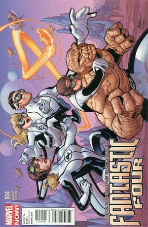 Fantastic Four Vol 4 #4 Incentive Terry Dodson Variant Cover
