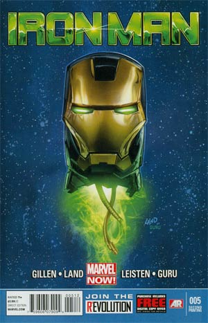 Iron Man Vol 5 #5 2nd Ptg Greg Land Variant Cover