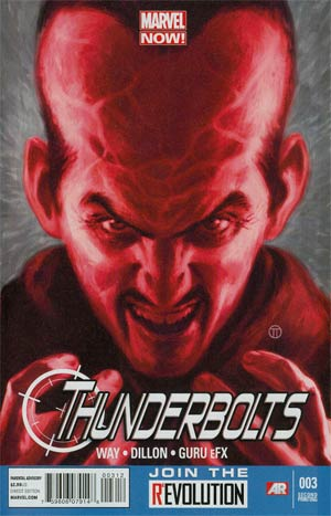 Thunderbolts Vol 2 #3 2nd Ptg Steve Dillon Variant Cover