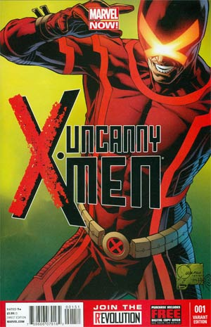 Uncanny X-Men Vol 3 #1 Incentive Joe Quesada Variant Cover