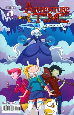 Adventure Time Fionna & Cake #1 2nd Ptg