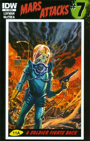 Mars Attacks Vol 3 #7 Incentive Dan Brereton Variant Cover
