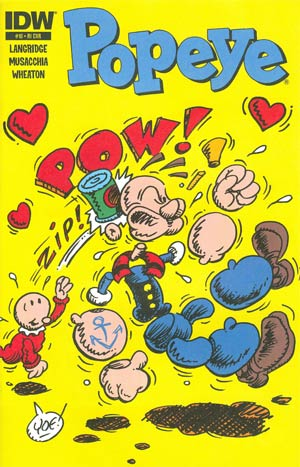 Popeye Vol 3 #10 Incentive Craig Yoe Variant Cover