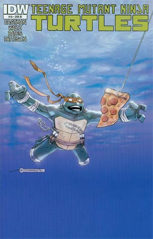 Teenage Mutant Ninja Turtles Vol 5 #18 Incentive Mark Torres Rock Poster Variant Cover