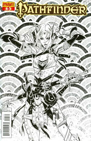 Pathfinder #5 Incentive Matteo Scalera Black & White Cover