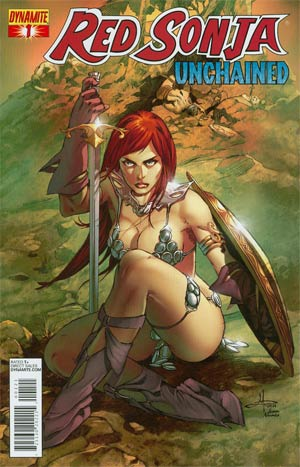 Red Sonja Unchained #1 Incentive Mel Rubi Chain Mail Variant Cover