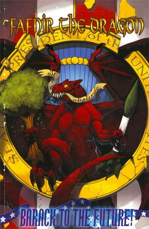 Fafnir The Dragon Vol 2 Barack To The Future GN
