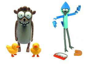 Regular Show 3-Inch Action Figure Assortment Case
