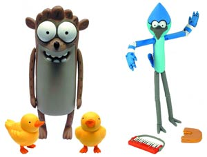 Regular Show 6-Inch Action Figure Assortment Case