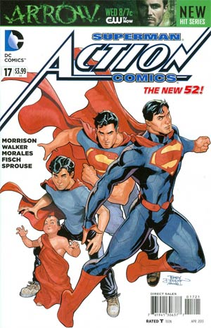 Action Comics Vol 2 #17 Variant Terry Dodson Cover