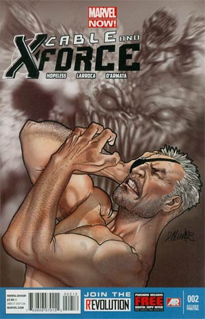 Cable And X-Force #2 2nd Ptg Salvador Larroca Variant Cover