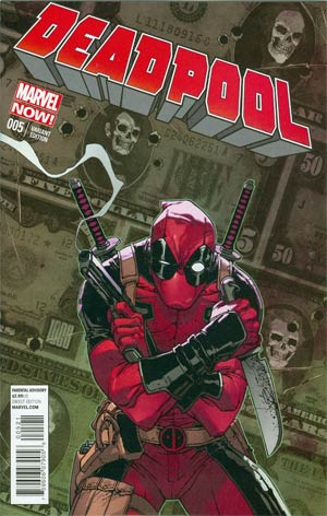 Deadpool Vol 4 #5 Incentive Giuseppe Camuncoli Variant Cover