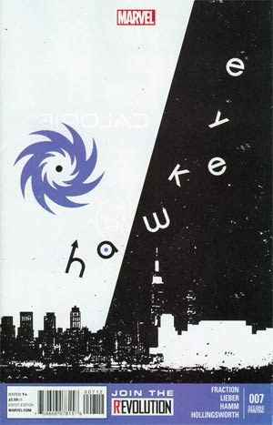 Hawkeye Vol 4 #7 2nd Ptg David Aja Variant Cover