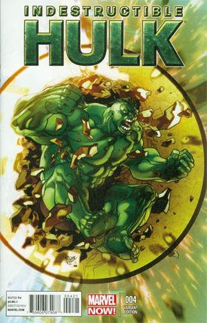 Indestructible Hulk #4 Incentive Pasqual Ferry Variant Cover