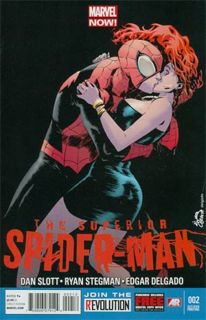 Superior Spider-Man #2 2nd Ptg Ryan Stegman Variant Cover