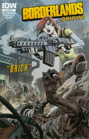 Borderlands Origins #4 Incentive Jeff Zornow Variant Cover