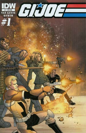 GI Joe Vol 6 #1 Incentive Jamal Igle Wraparound Variant Cover