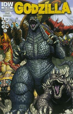 Godzilla Vol 2 #10 Incentive Matt Frank Variant Cover