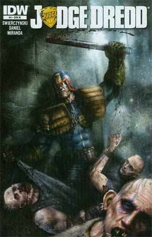 Judge Dredd Vol 4 #4 Incentive Nick Percival Variant Cover
