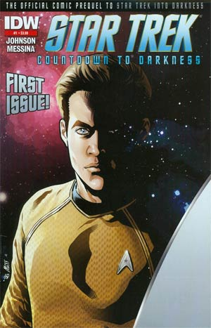 Star Trek Countdown To Darkness #1 2nd Ptg