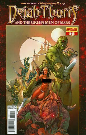 Dejah Thoris And The Green Men Of Mars #1 Incentive Mel Rubi Risque Art Variant Cover