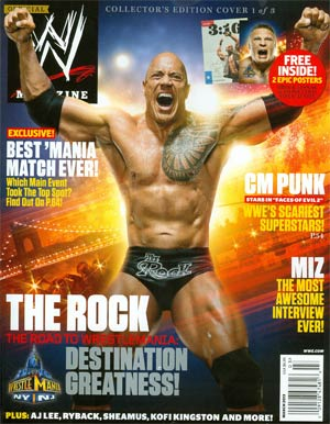 WWE Magazine #86 Mar 2013