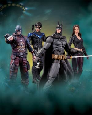 Batman Arkham City Series 4 Complete 4-Figure Set