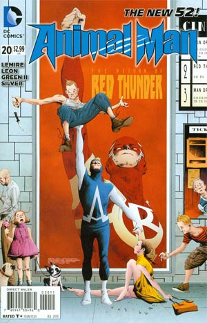 Animal Man Vol 2 #20