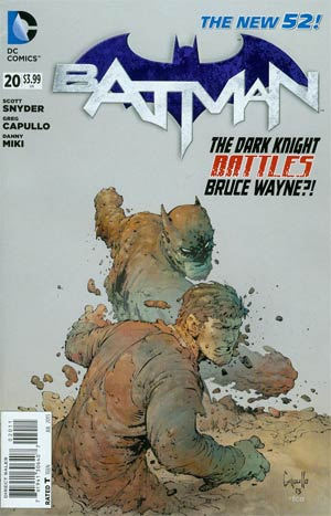 Batman Vol 2 #20 Regular Greg Capullo Cover