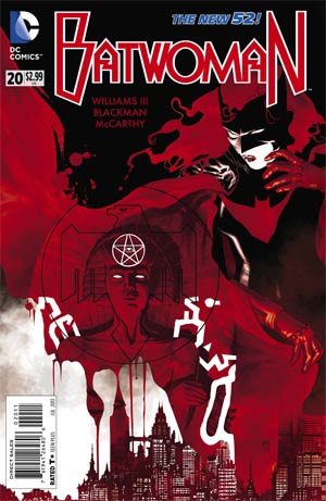 Batwoman #20 Regular JH Williams III Cover