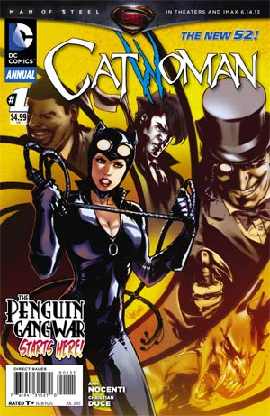 Catwoman Vol 4 Annual #1