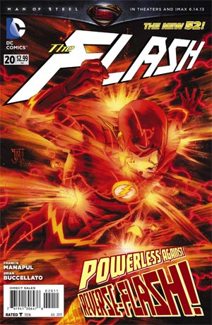 Flash Vol 4 #20 Regular Francis Manapul Cover
