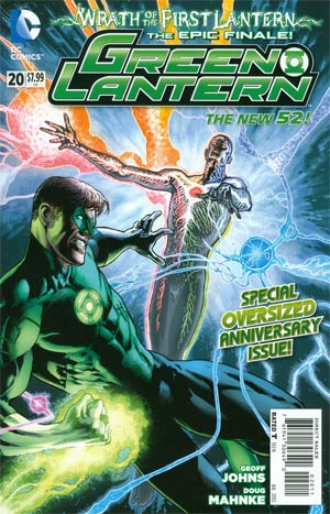Green Lantern Vol 5 #20 Regular Doug Mahnke Cover (Wrath Of The First Lantern Tie-In)