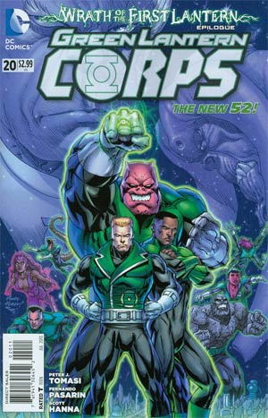 Green Lantern Corps Vol 3 #20 Regular Andy Kubert Cover (Wrath Of The First Lantern Tie-In)